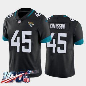 Jacksonville Jaguars K'Lavon Chaisson Black Jersey